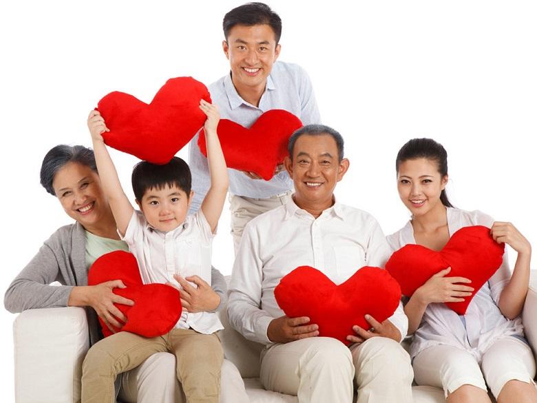 Bảo vệ sức khỏe cho cả gia đình.
