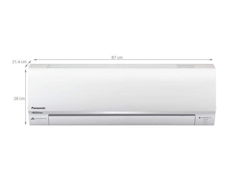 Thông số kỹ thuật Điều hòa 2 chiều Panasonic Inverter 1.5 HP CU/CS-YZ12SKH
