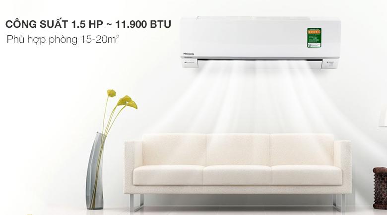 Điều hòa 2 chiều Panasonic Inverter 1.5 HP CU/CS-YZ12SKH