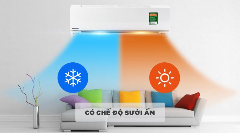 Điều hòa 2 chiều - Điều hòa 2 chiều Panasonic Inverter 1.5 HP CU/CS-YZ12SKH