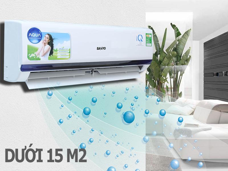 Máy lạnh Sanyo 1 HP SAP-KC9BGS7T
