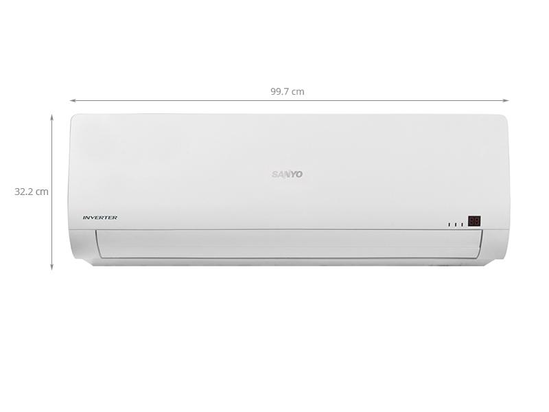 Thông số kỹ thuật Máy lạnh Sanyo 2 HP SAP-KCRV18WGS