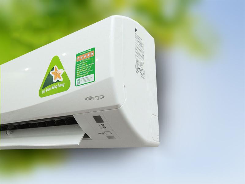 Với công nghệ DC Inverter, điều hòa Daikin có khả năng tăng hiệu suất lên 20%