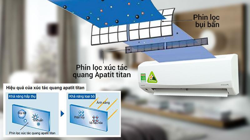 Điều hòa Daikin 1 HP FTKC25QVMV sẽ mang đến cho bạn những khoảnh khắc thư giãn trong bầu không khí trong lành nhất
