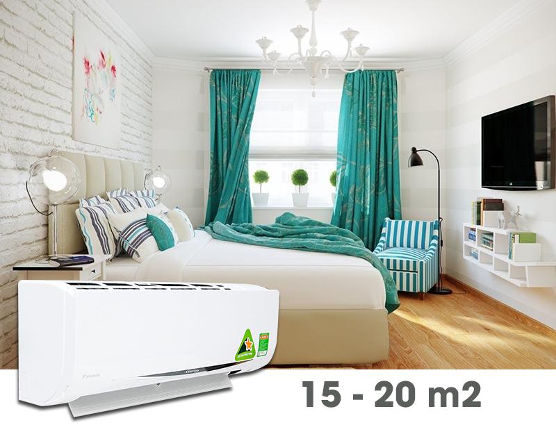 Máy lạnh Daikin Inverter 1.5 HP FTKC35QVMV 2