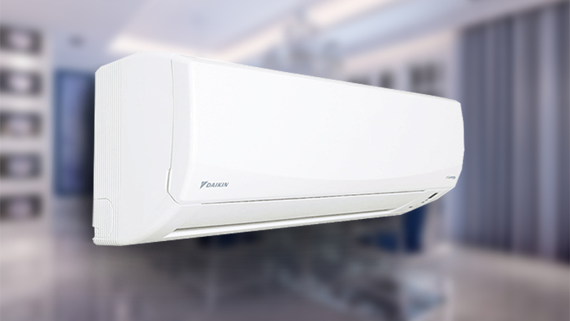 Điều hòa Daikin 2 HP FTKC50QVMV sở hữu thiết kế thanh nhã cùng gam màu trắng nhẹ nhàng