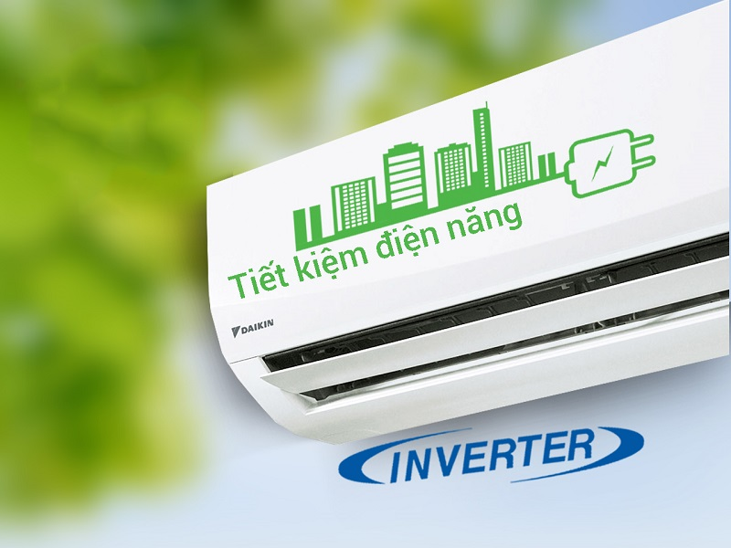 Với công nghệ Inverter, điều hòa Daikin 2 HP FTKC50QVMV sẽ đem lại sự hoạt động ổn định cho mô tơ