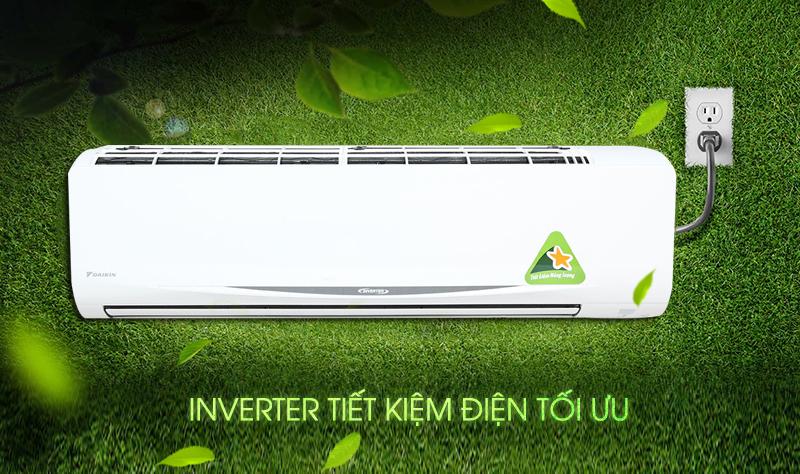 Công nghệ Inverer của máy lạnh Daikin FTKC60QVMV không chỉ tiết kiệm điện