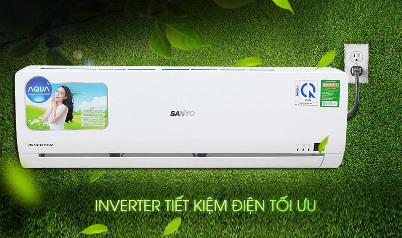 A-PAM DC Inverter của điều hòa Aqua AQA-KCRV12WGS tăng sự tiết kiệm điện cho chính nó