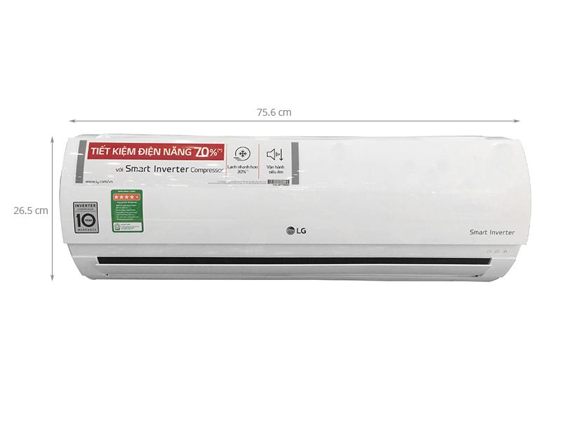 Thông số kỹ thuật Máy lạnh LG Inverter 1 HP V10ENP