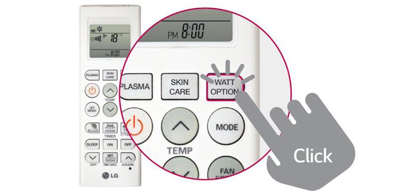 Tính năng kiểm soát Năng Lượng Chủ Động trên máy lạnh LG V13END