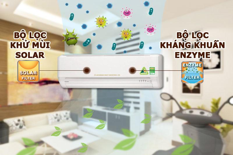 Công nghệ kháng khuẩn khử mùi vượt trội