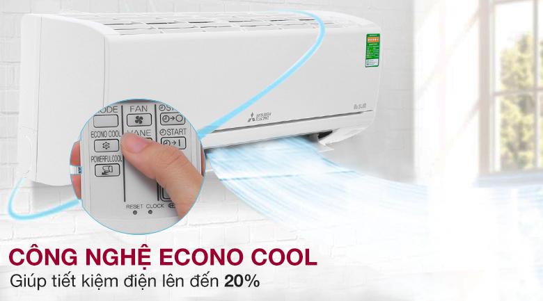 Chế độ Econo Cool - Máy lạnh Mitsubishi 1.0 HP Electric MS-HM25VA