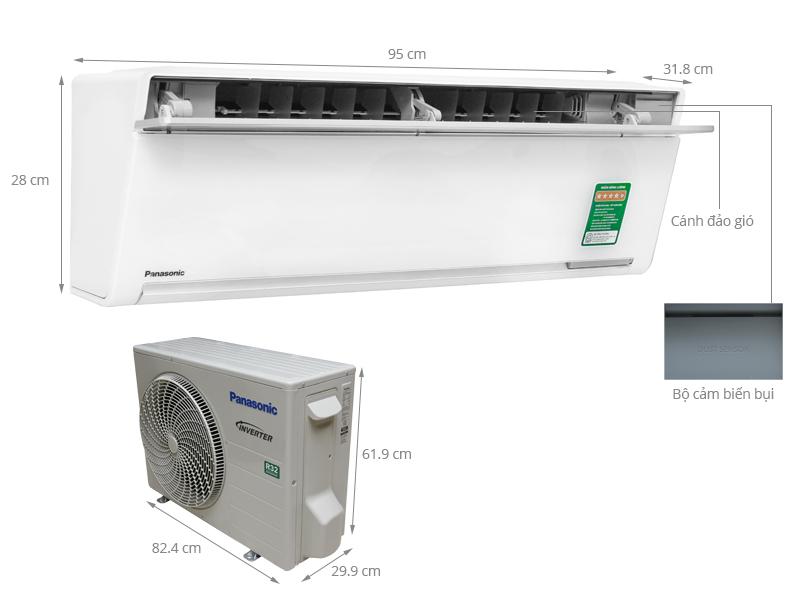 Thông số kỹ thuật Máy lạnh Panasonic 2 HP CU/CS-VU18SKH-8