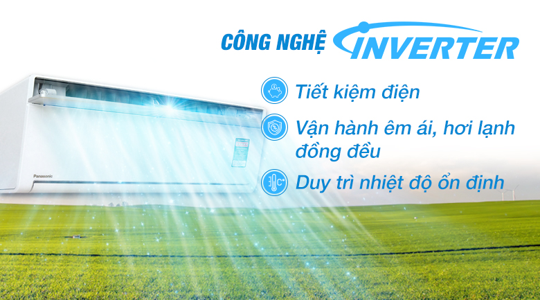Inverter - Máy lạnh Panasonic Inverter 2 HP CU/CS-VU18SKH-8