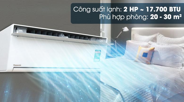 Công suất 2 HP - Máy lạnh Panasonic Inverter 2 HP CU/CS-VU18SKH-8
