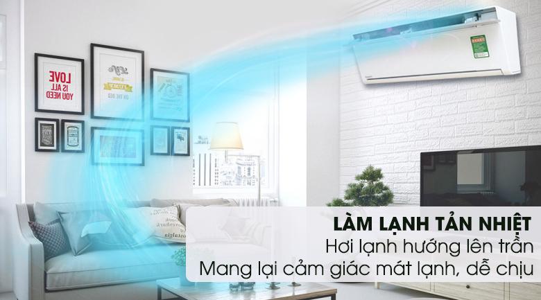 Làm lạnh tản nhiệt - Máy lạnh Panasonic Inverter 2 HP CU/CS-VU18SKH-8