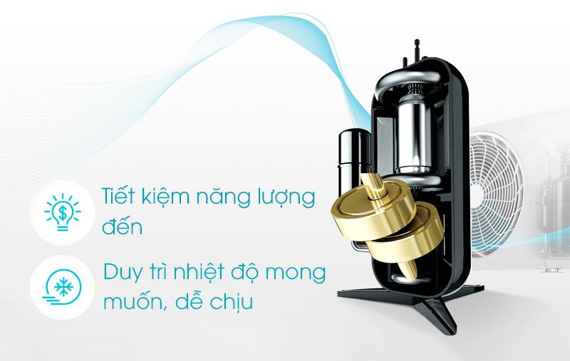 Máy nén inverter trên máy lạnh LG 1.5 HP V13APQ