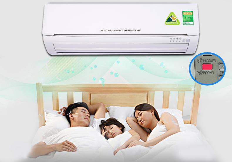 Máy lạnh Mitsubishi Heavy SRK13CRS-S5 tiết kiệm điện