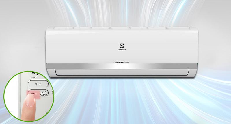 công nghệ làm lạnh nhanh trên điều hòa Electrolux ESV09HRK-A3