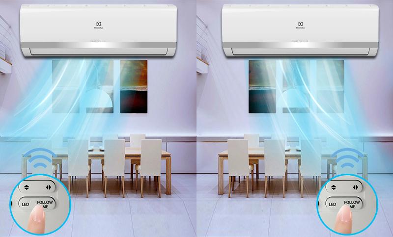cảm biến i-feel trên điều hòa Electrolux ESV09HRK-A3