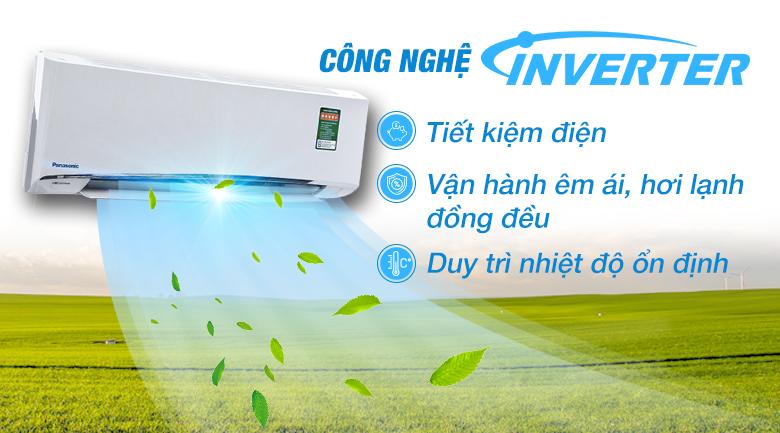 Công nghệ Inverter tiên tiến - Máy lạnh Panasonic Inverter 1 HP CU/CS-U9TKH-8