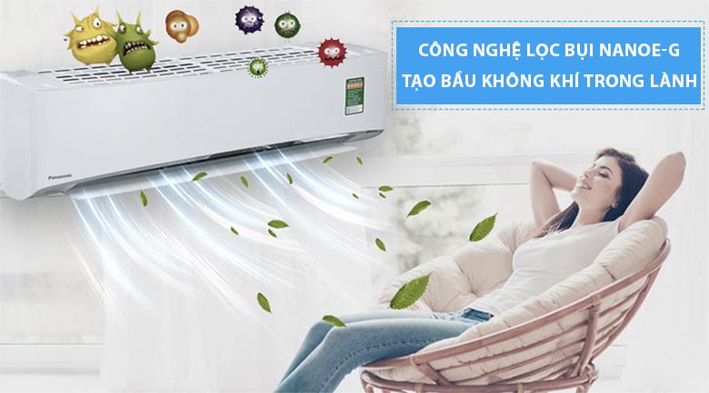 Công nghệ lọc bụi Nanoe-G - Máy lạnh Panasonic Inverter 1 HP CU/CS-U9TKH-8