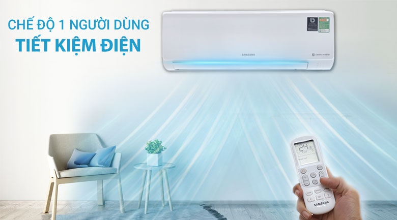 Single user - Máy lạnh Samsung Inverter 1.0 HP AR10MVFHGWKNSV