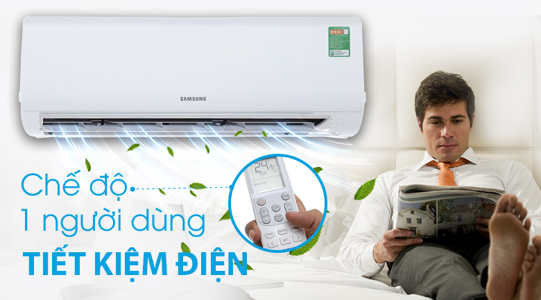 Chế độ Single User - Máy lạnh Samsung Inverter 1.5 HP AR13MVFHGWKNSV