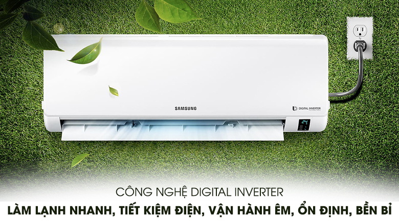 Digital Inverter - Máy lạnh Samsung Inverter 1.5 HP AR13MVFHGWKNSV