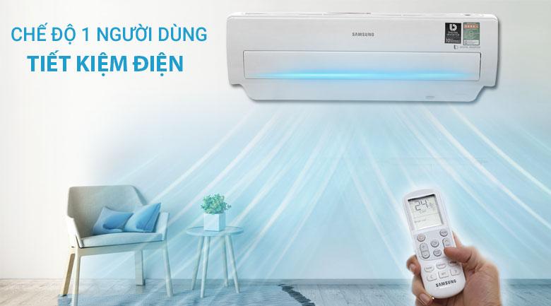 Chế độ 1 người dùng - Máy lạnh Samsung Inverter 1.5 HP AR13MVFSBWKNSV