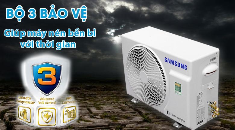 Bộ 3 bảo vệ - Máy lạnh Samsung Inverter 1.5 HP AR13MVFSBWKNSV