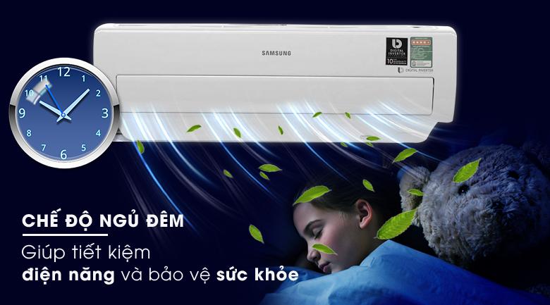 Chế độ ngủ đêm - Máy lạnh Samsung Inverter 1.5 HP AR13MVFSBWKNSV