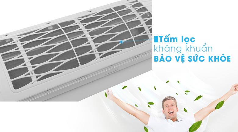 Tấm lọc kháng khuẩn - Máy lạnh Samsung Inverter 1.5 HP AR13MVFSBWKNSV