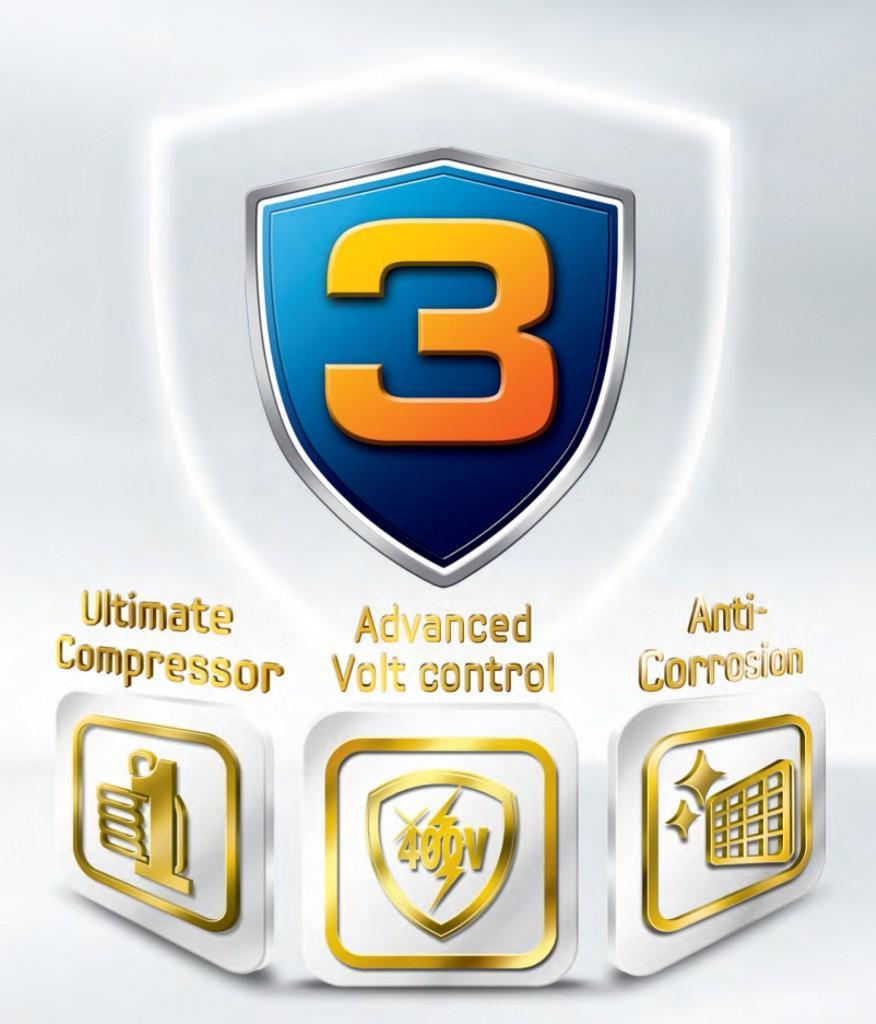 Bộ 3 bảo vệ tăng cường toàn diện