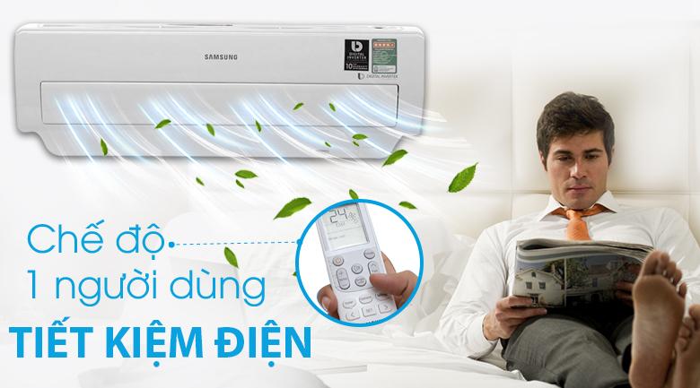 Chế độ 1 người dùng - Máy lạnh Samsung Inverter 1 HP AR10MVFSBWKNSV