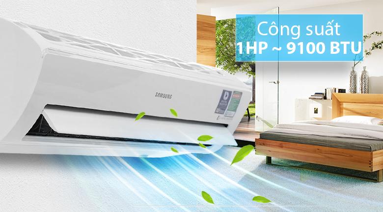 Công suất - Máy lạnh Samsung Inverter 1 HP AR10MVFSBWKNSV