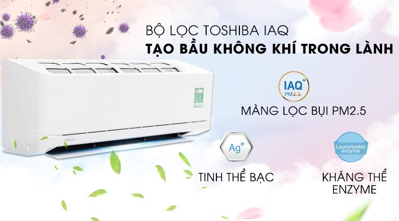 Bộ lọc Toshiba IAQ - Máy lạnh Toshiba 1.0 HP RAS-H10QKSG-V