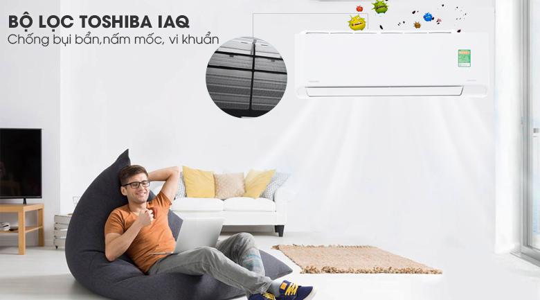 Bộ lọc IAQ - Máy lạnh Toshiba Inverter 1.5 HP RAS-H13PKCVG-V