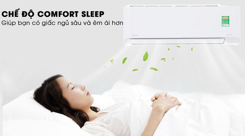 Comfort Sleep - Máy lạnh Toshiba Inverter 1.5 HP RAS-H13PKCVG-V