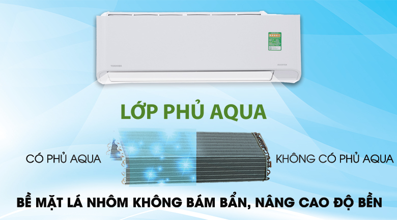 Magic Coil - Máy lạnh Toshiba Inverter 1.5 HP RAS-H13PKCVG-V
