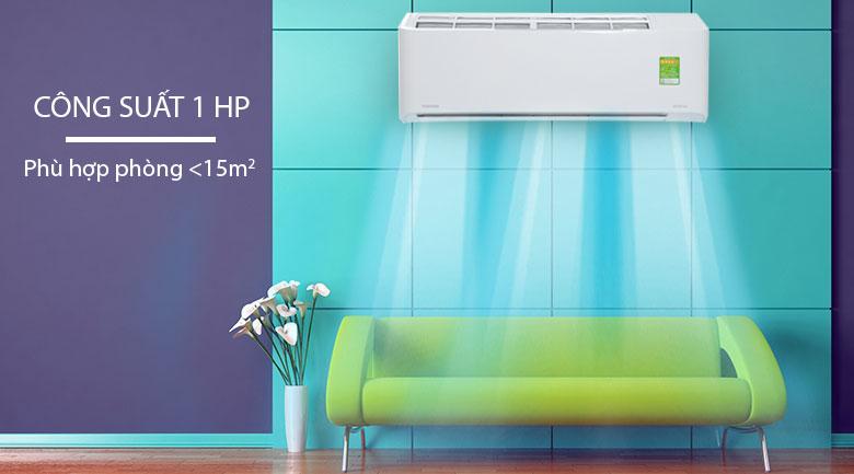 Máy lạnh phù hợp cho phòng có diện tích khiêm tốn