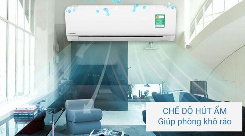 Chức năng hút ẩm - Máy lạnh Panasonic 1.0 HP CU/CS-N9SKH-8