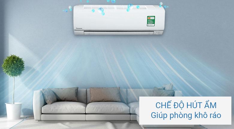 Hạn chế độ ẩm trong không khí, cho căn phòng luôn khô ráo, dễ chịu