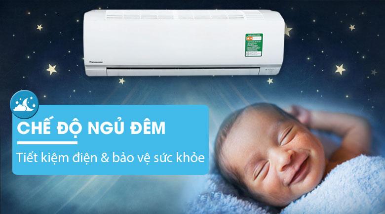 Tiết kiệm điện và bảo vệ sức khỏe cả gia đình với chế độ ngủ ban đêm