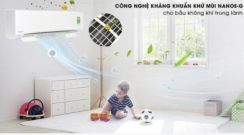 Công nghệ NanoeG - Máy lạnh Panasonic Inverter 2.5 HP CU/CS-U24TKH-8