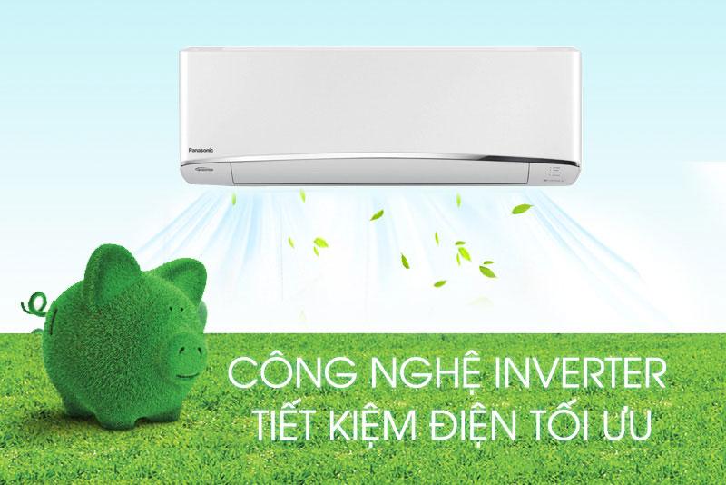 Vận hành êm ái, tiết kiệm điện năng với công nghệ Inverter