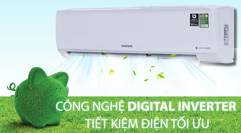 Digital Inverter - Máy lạnh Samsung Inverter 2.0 HP AR18MVFHGWKNSV
