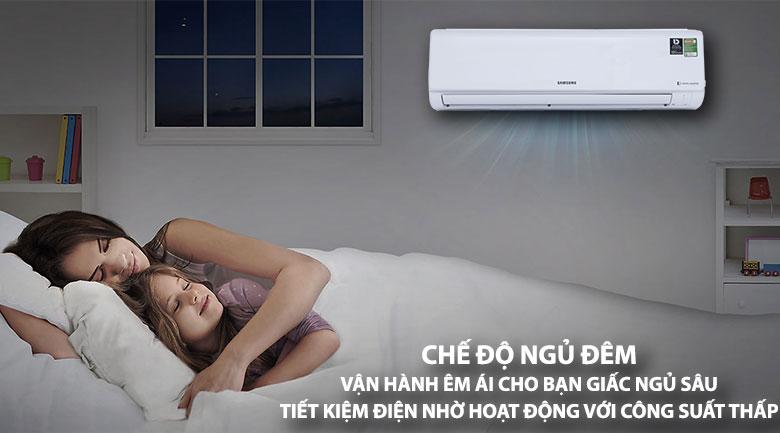 Chế độ ngủ đêm - Máy lạnh Samsung Inverter 2.0 HP AR18MVFHGWKNSV