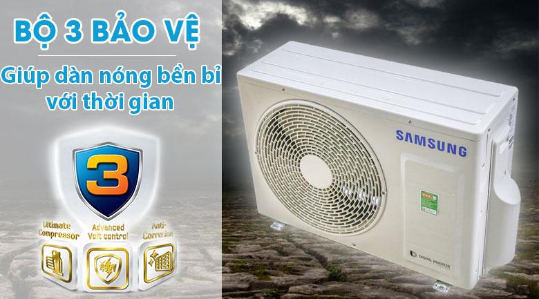 Bộ 3 bảo vệ - Máy lạnh Samsung Inverter 2.0 HP AR18MVFHGWKNSV